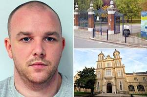 serial rapist who pounced on day he married harry kane's cousin is jailed for life for second time