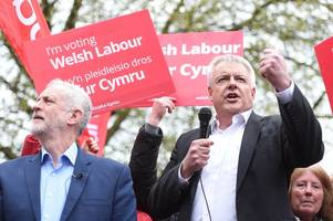 welsh labour rules out anti-tory pacts to stop conservative landslide in wales