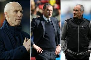 here's where swansea city would be if each of their three managers this season had been in charge throughout