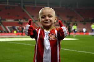 the heart-warming moment newcastle united fans sing bradley lowery song during trip to cardiff city