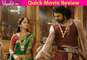 Baahubali 2 quick movie review: Prabhas and Anushka Shetty's enchanting chemistry and the amazing visuals will leave you asking for more