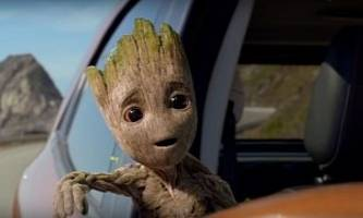 baby groot apparently tells girl to get tattoo in ford ecosport commercial
