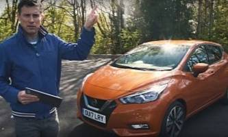 second 2017 nissan micra review from carwow is much more critical