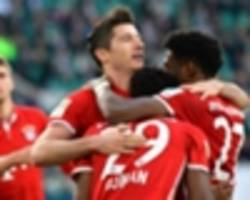 bayern secure bundesliga title for fifth time in a row