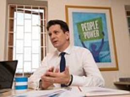 Business tycoons make toast of Brexit Tory MP Steve Baker