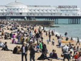 summer is finally on the way as temperatures reach 28c