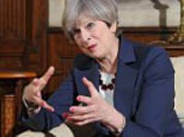 theresa may promises tough new laws if she wins election