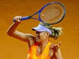 Maria Sharapova must dig deep and stop the sneers