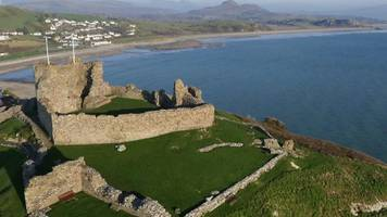 Criccieth Castle CGI reconstruction for new visitor centre