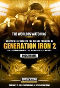 generation iron 2 - cast: calum von moger, kai greene, big ramy, rich piana, iris kyle