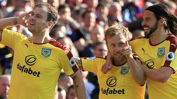 burnley win at palace to move away from drop zone