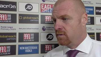 Crystal Palace 0-2 Burnley: Clarets' first away win outstanding - Dyche