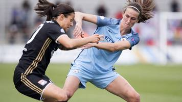 man city fall short in women's champions league comeback
