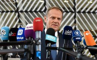 donald tusk urges eu partners to stay united in the face of brexit