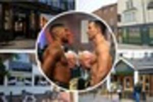 Which Hull pubs are showing the Anthony Joshua v Wladimir...