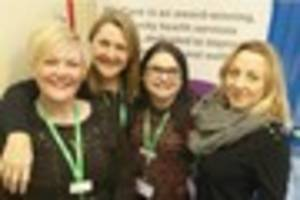 nottingham cancer support service rated 'outstanding'