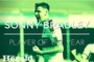 Sonny Bradley is The Herald's Plymouth Argyle Player of the Year...