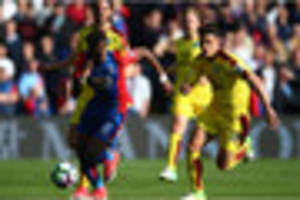 crystal palace manager: offside call against wilfried zaha was...