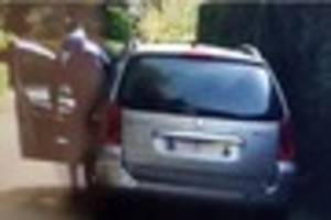 Police want to speak to the man in this photo after a burglary in...