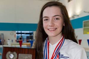 six of the best as lanark asc's shiona mcclafferty wins gb deaf swimming championships medals