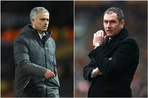 Pick the Swansea City team YOU want to see take on Jose Mourinho's Manchester United