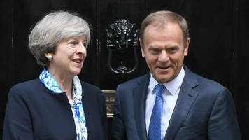 Brexit: Tusk says UK trade deal not a priority