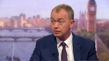 General Election 2017: May 'heading for coronation' - Farron