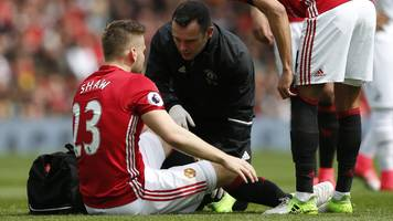 Luke Shaw and Eric Bailly add to Manchester United injuries