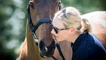 zara tindall and high kingdom claim third in kentucky three day event