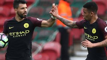 Jesus rescues point for Man City at Boro