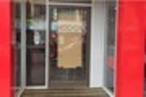 kfc door smashed as 'shocked patrons looked on' late last night