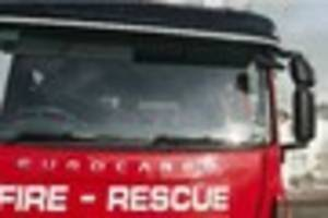 Man trapped in car and airlifted to hospital after serious crash...