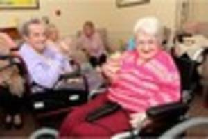 Care home celebrates its first birthday