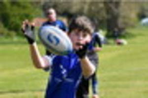 youngsters try their best at lincolnshire festival of rugby