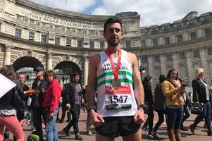London Marathon hero turned away from bar in his home city - for wearing trainers!