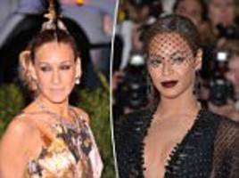 femail looks back at the met gala's most memorable looks