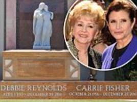 carrie fisher and debbie reynolds' shared headstone