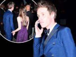 eddie redmayne 'turned away from rihanna's met gala party'