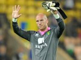 former england goalkeeper john ruddy to leave norwich
