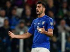 graziano pelle open to italy return after ventura fallout