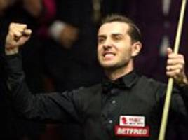 mark selby eyes stephen hendry's crucible record