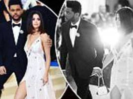 selena gomez and beau the weeknd share met gala pics