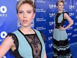 scarlett johansson at planned parenthood gala in new york
