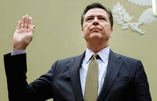 watch live:  fbi director comey gets grilled by senate over inconsistencies on trump dossier