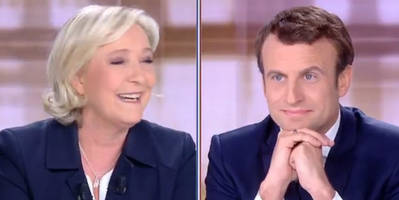 watch live: le pen debates macron - what to watch for in today's crucial debate