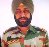 Image result for Amarinder announces jobs for children of soldier killed by Pakistan forces