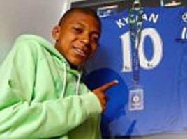 chelsea and real madrid had kylian mbappe on trial!