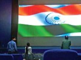 india prepares a list for national anthem cinema siting