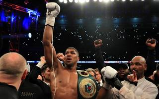 could anthony joshua be the first billionaire boxer?