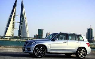 driving the mercedes glk 250 in the monaco of the middle east
